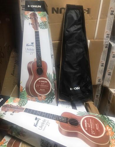 ukelele soprano con funda kauai