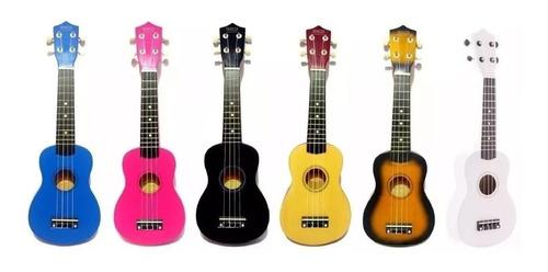 ukelele soprano de madera  color + funda gratis