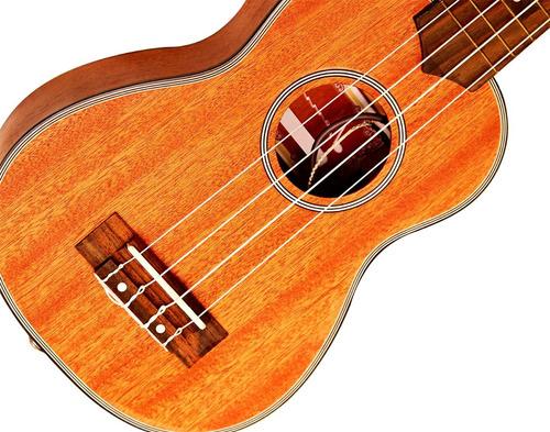 ukelele soprano electro acustico con afinador lateral genial