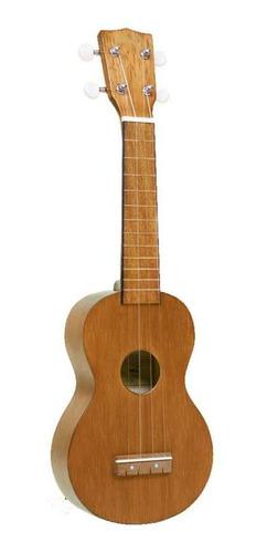 ukelele soprano excelente sonido color madera mahalo mk1tbr