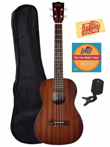 ukelele soprano kala kaa 15b satin mahogany baritone ukulele 4 en mercado libre. Black Bedroom Furniture Sets. Home Design Ideas