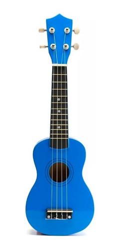 ukelele soprano midiplus de madera con funda varios colores