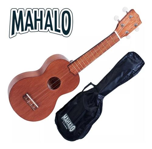 ukelele soprano mk-1 mahalo c/ funda trasaldo