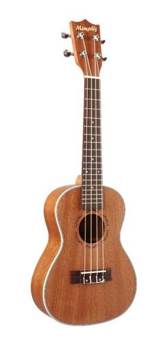 ukelele tamaño concierto memphis uk 24mm acústico ukulele