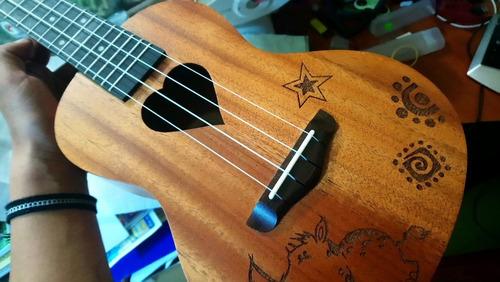 ukelele tenor corazon electroacustico ukulele