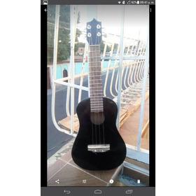 Ukelele Tenor Larense 17 Trastes  Negro Guaros Music