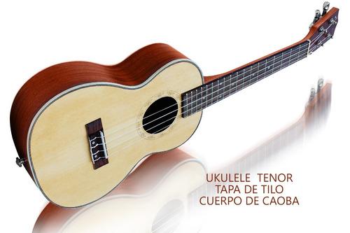 ukelele tenor profesional de caoba, edición especial........