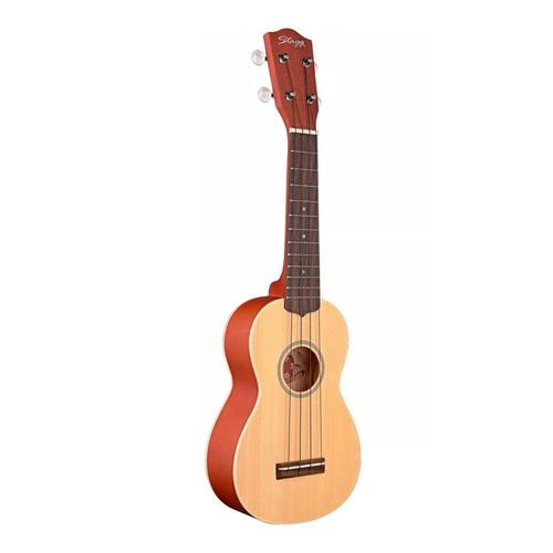 ukelele tradicional soprano cedar-maho stagg us60