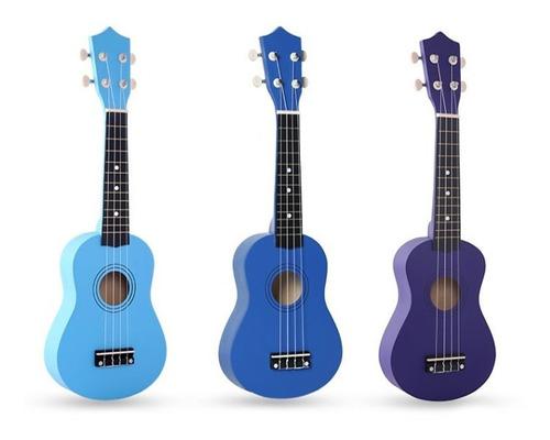 ukelele ukulele soprano azul