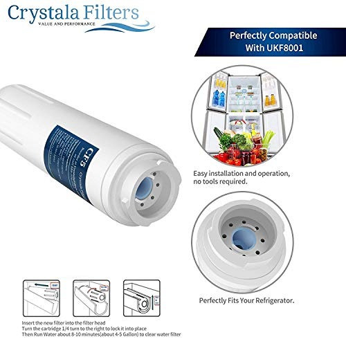 ukf8001 filtro de agua, compatible con refrigerador filtro d