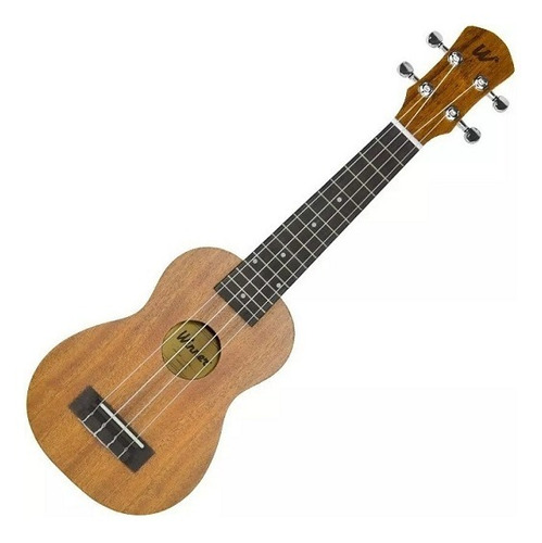 ukulelê soprano winner 21 sapele laminado natural