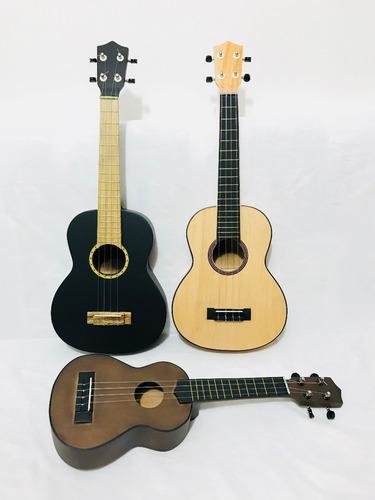 ukulele acústico concierto+forro+envió