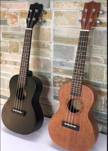 ukulele acústico +forro+correa+envió