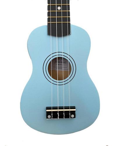 ukulele andaluz azul  soprano uks-01 lb