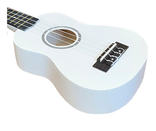 ukulele branco seven soprano suk-07 wh