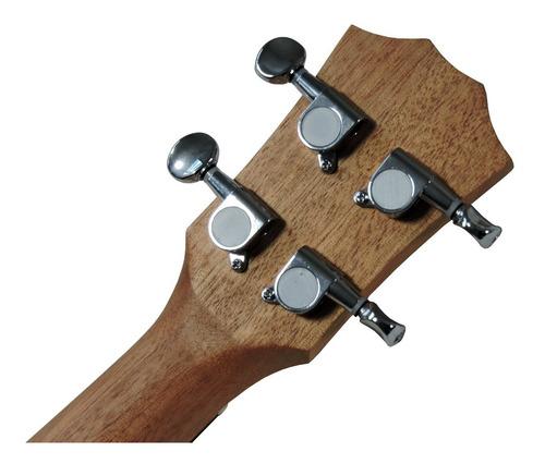 ukulele concert barth guitars eletrico+ afinador aroma
