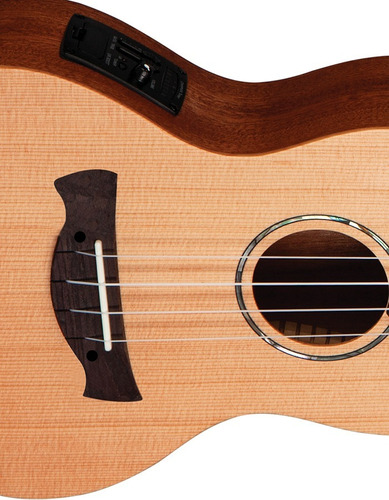 ukulele concert tagima elétrico 43-k natural fosco