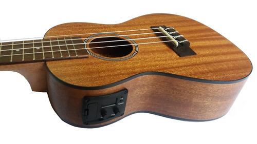 ukulele concierto electroacústico ukelele caoba homemusic.pe