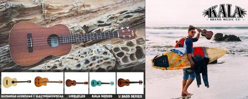 ukulele concierto ukelele kala makala mk-c caoba satinado