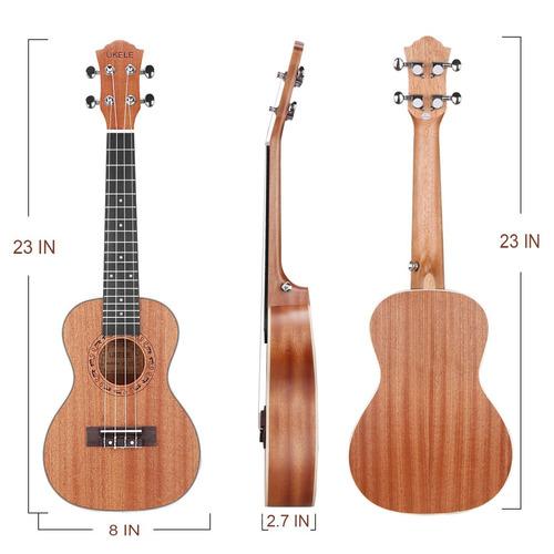 ukulele de 23 pulgadas de madera