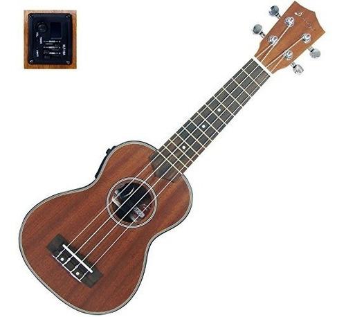 ukulele electroacustico con afinador y funda hot sale !!