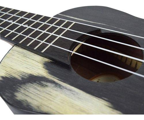 ukulele elétrico akahai ronsani ko-23e concert