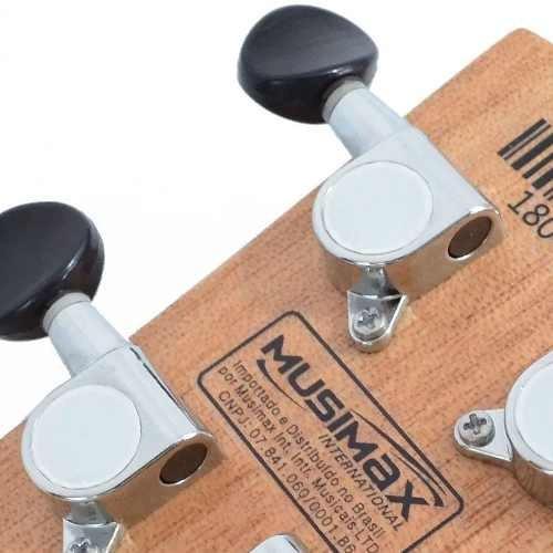 ukulele elétrico soprano uk-06se  mogno fosco strinberg capa