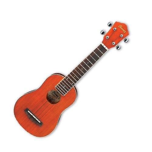ukulele ibañez soprano con afinador y funda iuks5