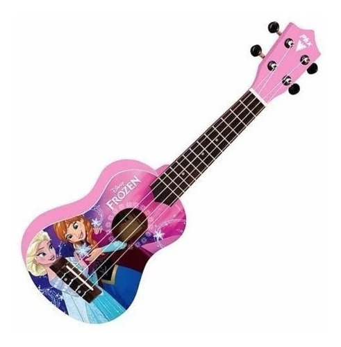 ukulele infantil disney frozen rosa phx ukpf2 pink com capa