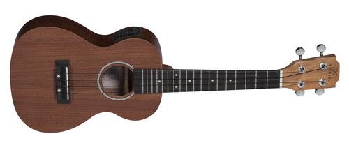 ukulele michael concert elétrico mk23 zbe mahogany