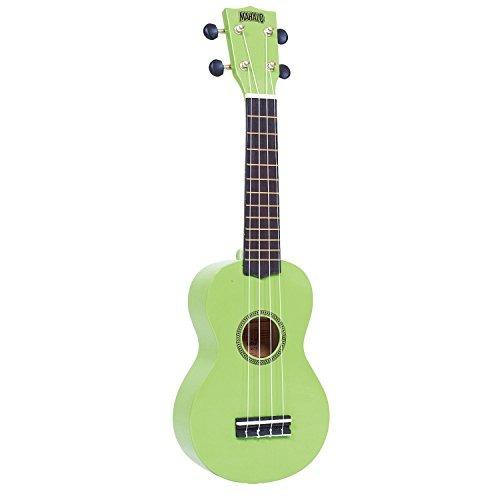 ukulele mr1gn serie arco iris soprano mahalo