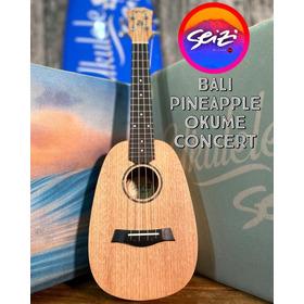 Ukulele Seizi Bali Pineapple Concert Acústico Okume