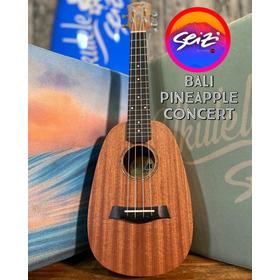 Ukulele Seizi Bali Pineapple Concert Acústico Sapele