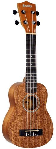 ukulele shelby by eagle su21m soprano acústico - stnt
