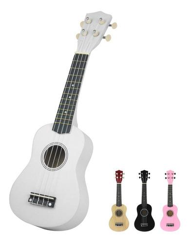 ukulele soprano acustico de madera