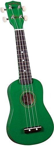 ukulele soprano de arco iris diamond head du-105 - verde