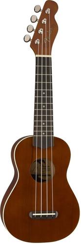 ukulele soprano fender venice natural nuevo