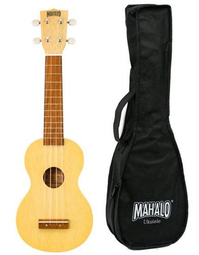 ukulele soprano mahalo mk1 series caoba funda by dancis