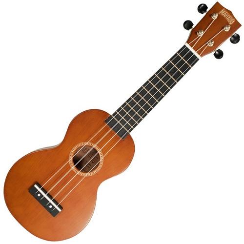 ukulele soprano mahalo mr1tbrpk marron transparente