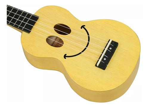 ukulele soprano mahalo u-smile series con funda colores