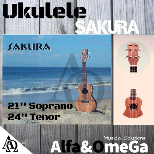ukulele soprano, sakura