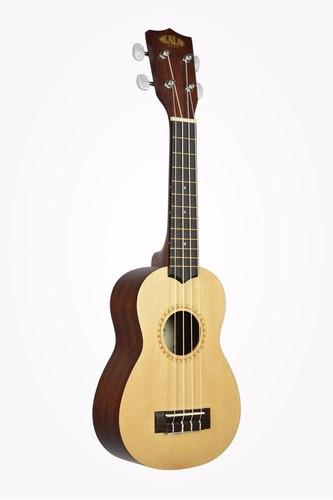 ukulele ukelele kala ka-15s-s abeto/caoba soprano hawaii