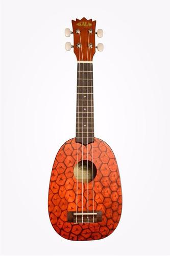 ukulele ukelele kala ka-pss pineapple mahogany soprano piña