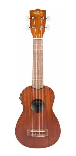 ukulele ukelele kala kase caoba electroacústico soprano