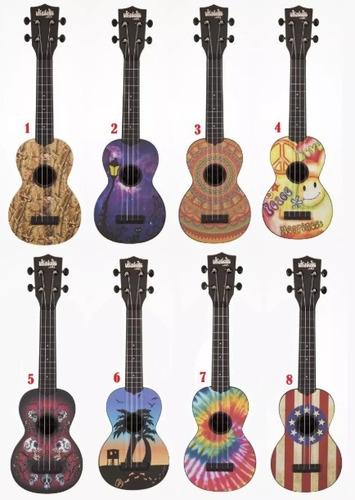 ukulele ukelele kala ukadelic abs agua soprano