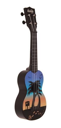 ukulele ukelele kala ukadelic ka-su-sunset abs agua soprano