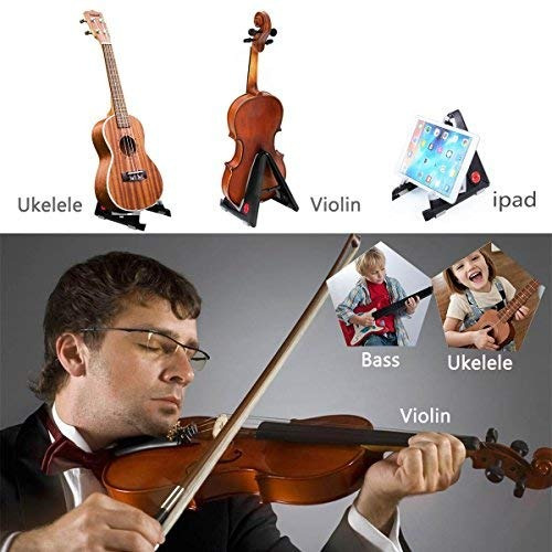 ukulele violin mandolin stand portable trípode ajustable