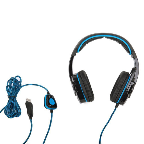 ul sades sa901 7.1 surround pro auriculares estéreo usb para