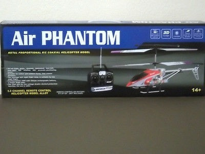 ulike air phantom 3.0 channel remote control helicopter