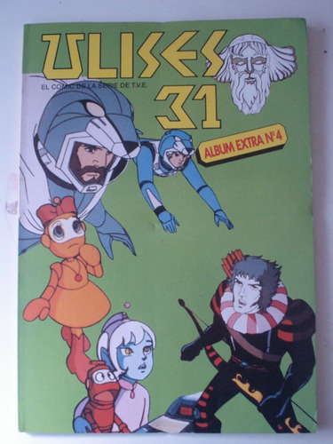 ulises 31. el comic de la serie de t.v.e. álbum extra nº 4